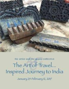 Image of flyer for Art of Travel