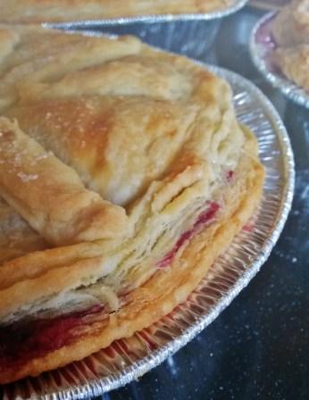 Nan's blackberry pies