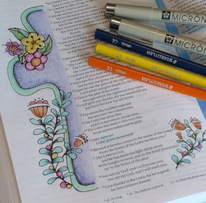 Bible Art Journaling Templates and Printables