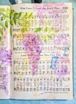 Drawing in the Word Bible Art Journaling with Susan Walker Art Hymn Pages