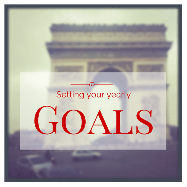 Setting your goals 1