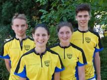 Sieg bei der ersten Sprintstaffel mit Löri, Fight und Florian - by Steffen