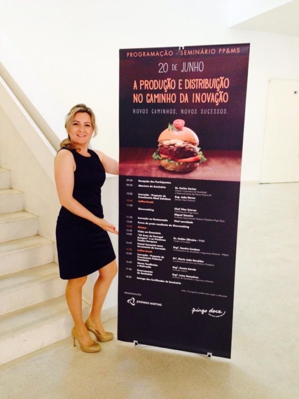 Susete Estrela invited as a speaker to a Jeronimo Martins Event