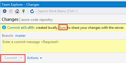 Sync to Bitbucket or origin
