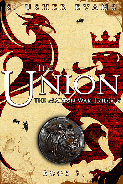 The Union, the third book in the Madion War Trilogy, a fantasy romance series available for preorder from Sun's Golden Ray Publishing.