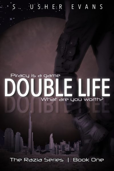 Double Life, the first book in a space pirate bounty hunter series, is now available as a free download from Sun's Golden Ray Publishing