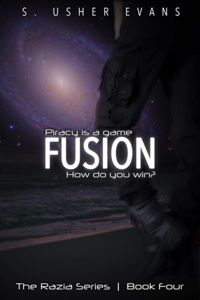 Fusion, the fourth book in a space opera featuring a space pirate bounty hunters, is now available from Sun's Golden Ray Publishing