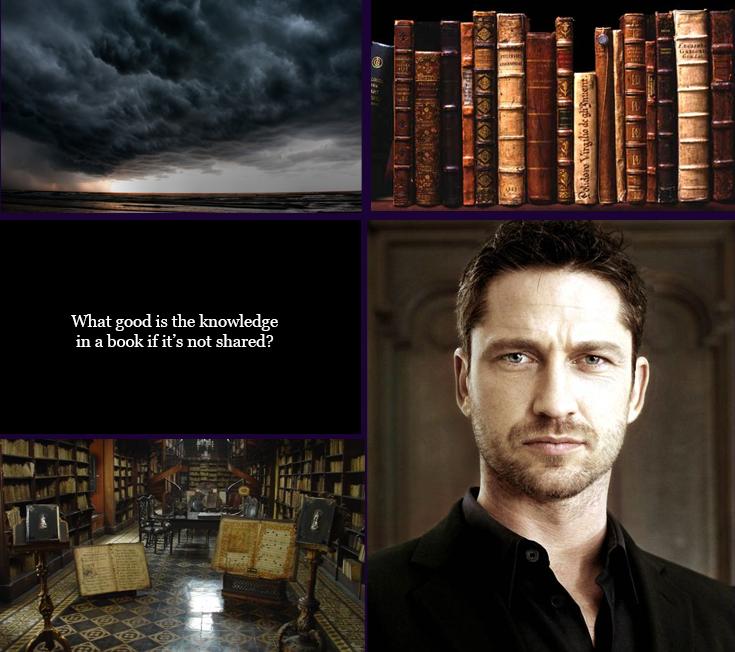 Gavon McKinnon is the mysterious stranger who teaches Lexie about magic.