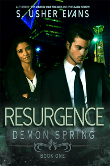 Resurgence, the first book in the Demon Spring trilogy, is an urban fantasy novel.