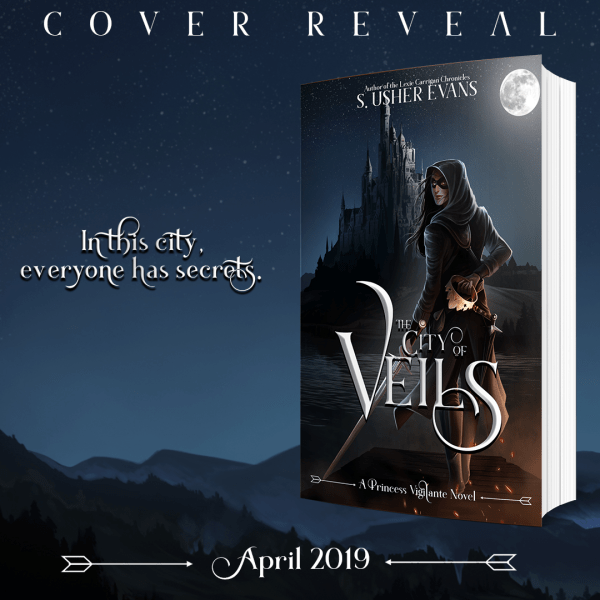 City of Veils Cover Reveal