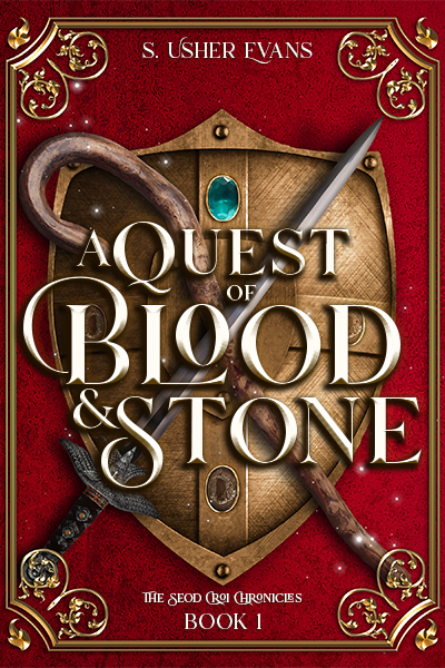 Book Cover: A Quest of Blood and Stone