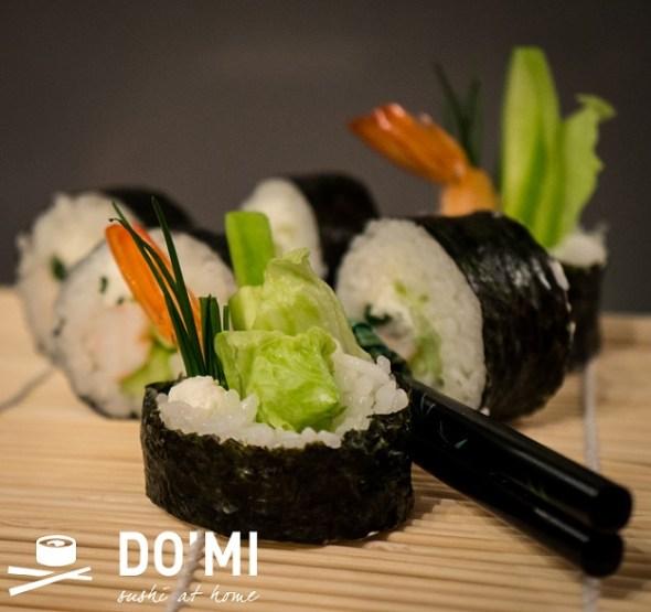 Sushi z krewetka