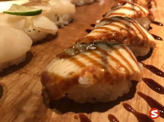 unagi (freshwater eel) nigiri
