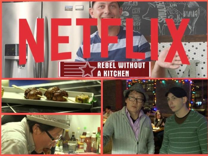Netflix: Rebel Without A Kitchen