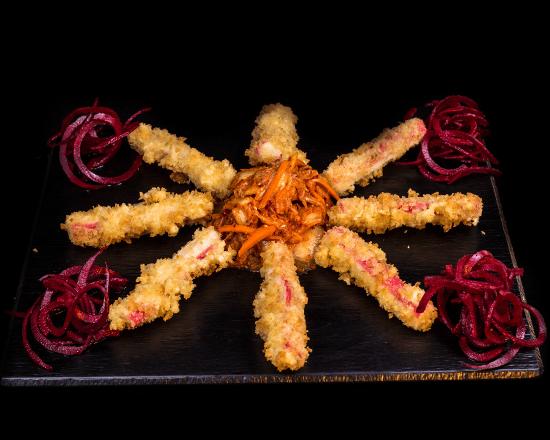paluszki crab z kimchi