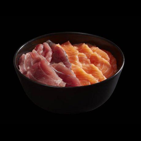 Chirashi de Salmão e Atum