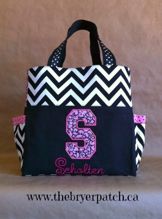 Shannon Brunette - Millie Nappy Bag Sewing Pattern by SusieDDesigns