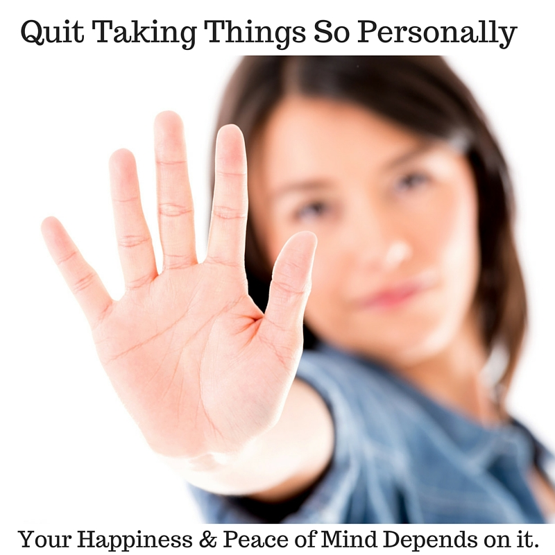 Quit Taking Things So Personally3