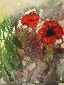 Hedgerow Poppies
