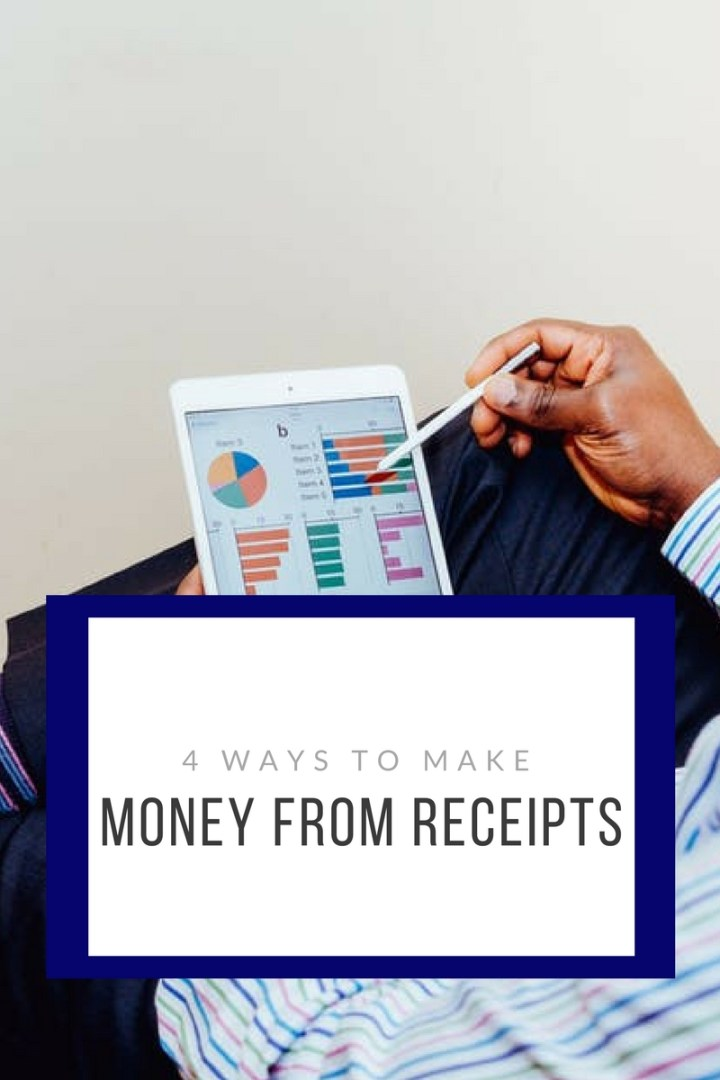 4 ways to make money off your receipts.