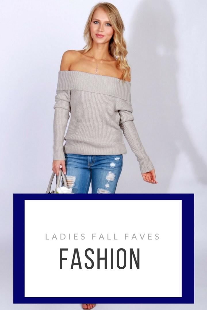 Ladies Fashion Fall Favorites