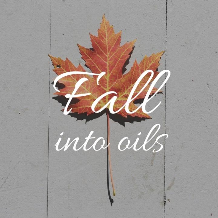 Fall Essential Oil Diffuser Recipes