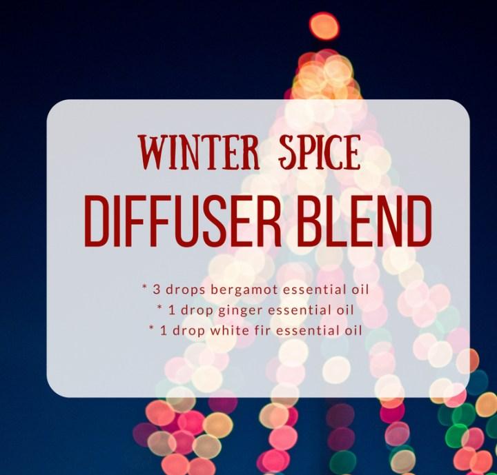Winter Essential Oil Blends