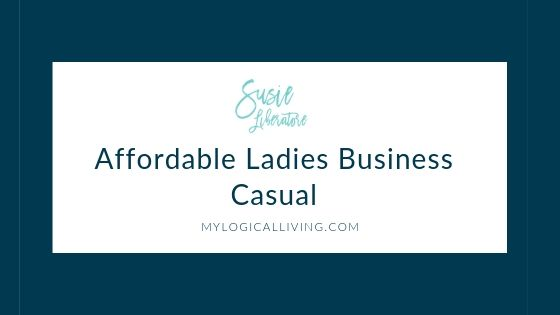 Affordable Ladies Business Casual