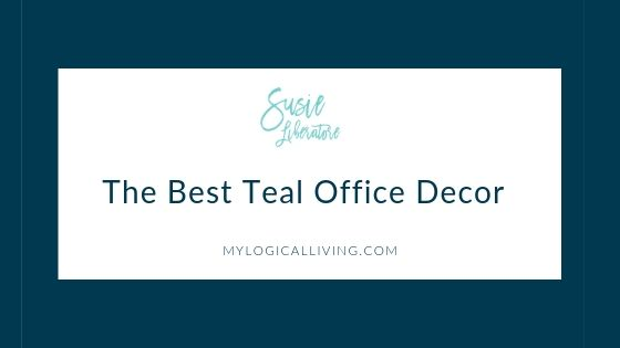 The Best Teal Office Decor