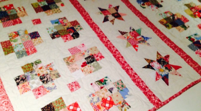 Stars and Crosses Band Quilt Pattern