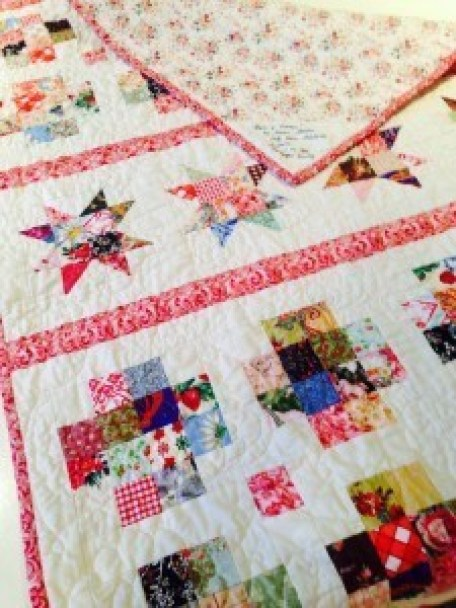 image, Stars and Crosses Band Quilt