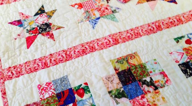 Stars and Crosses Band Quilt