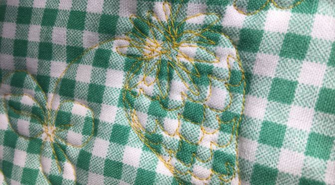 Quilting Strawberries