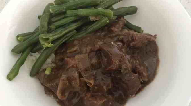 Braised Steak and Onions Slow Cooker