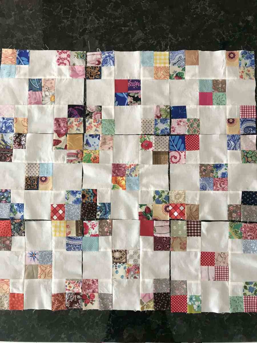 Around the Garden - In Scraps - Block
