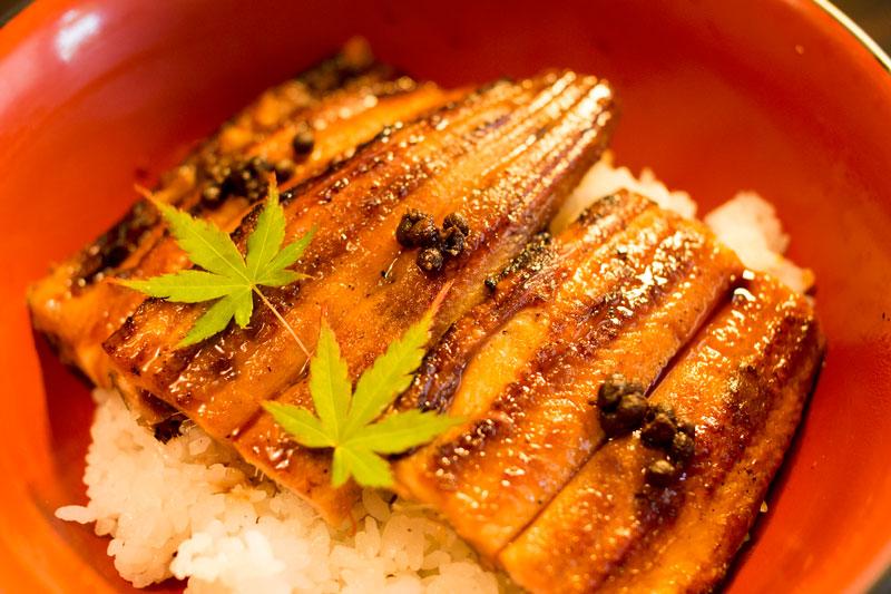 寿司一のあなご丼