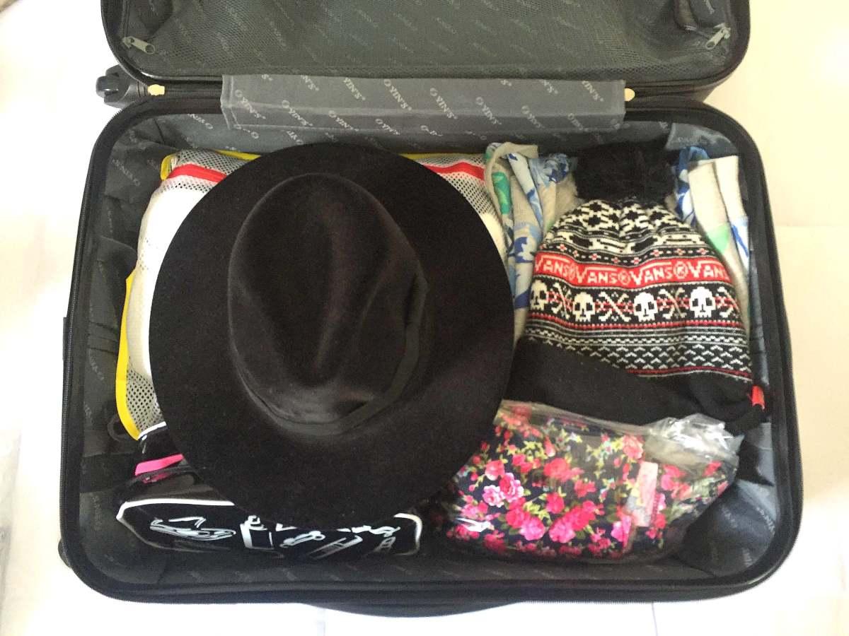 Como eu levo Chapéu na mala sem amassar?