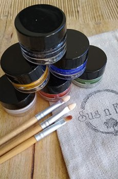 Natural Earth Paint – Natural Face Paint Kit – 6 kleuren