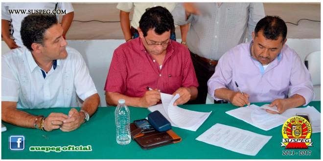 Reunión con Funcionarios del Gobierno del Estado y docentes de la Etapa 23 de Carrera Magisterial