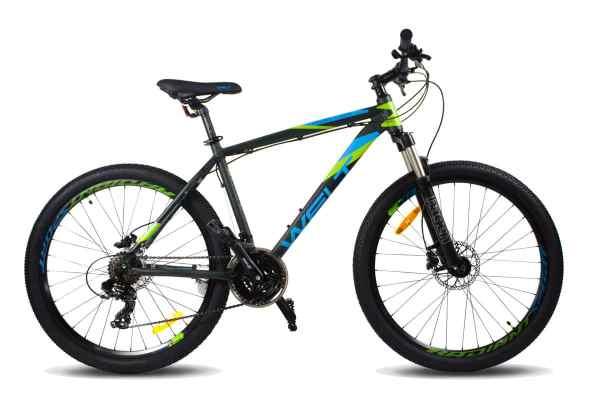 Велосипед Welt Ridge 1.0 HD 26 2020 тёмно-зеленый/синий ...