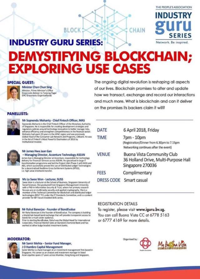 Industry guru series demystifying blockchain exploring use cases industry guruswee won ccuart Choice Image