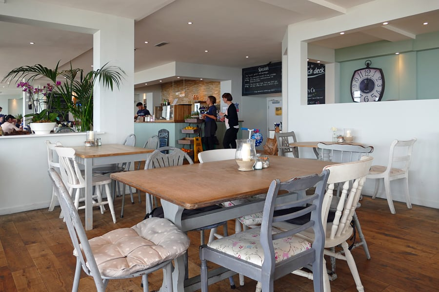 The Beach Deck, one of Eastbourne's best restaurants