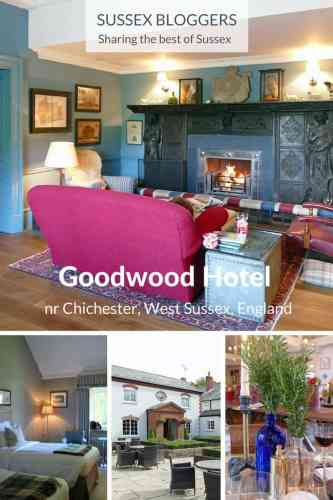 The 4-star Goodwood Hotel, nr Chichester, West Sussex, in southern England