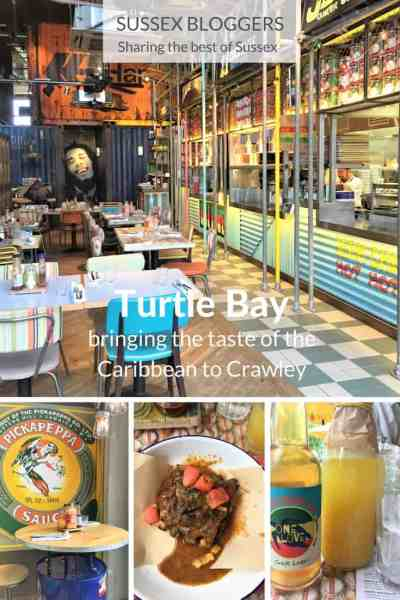 Turtle Bay, bringing the taste of the Caribbean to Crawley, West Sussex, England