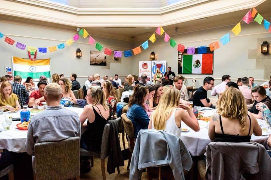 Fareshare Dinner, Brighton, West Sussex, England