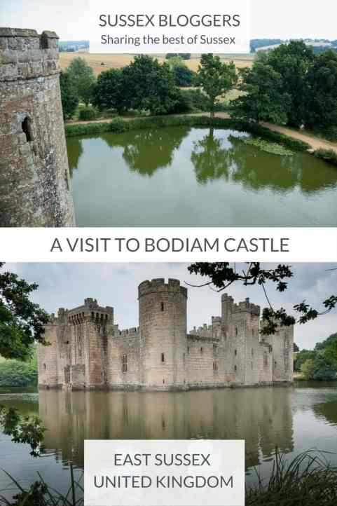 What to expect from a visit to Medievel Bodiam Castle in East Sussex, UK