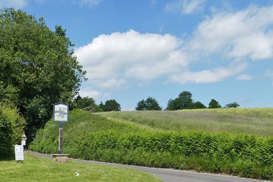 The drive to langham Brewery, Lodsworth, West Sussex,