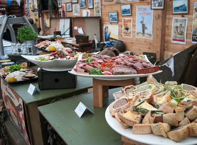 Goodwood Revival food