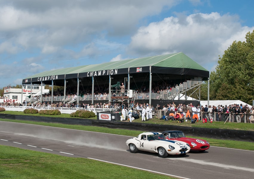 Going Retro at Goodwood Revival