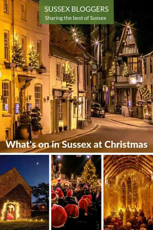 What's on in Sussex at Christmas #Sussex #England #Christmas